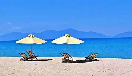 danang vietnam da nang hoian hoi an strand