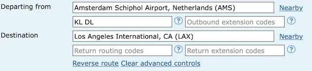 Ita Matrix vliegtickets booking app boeken