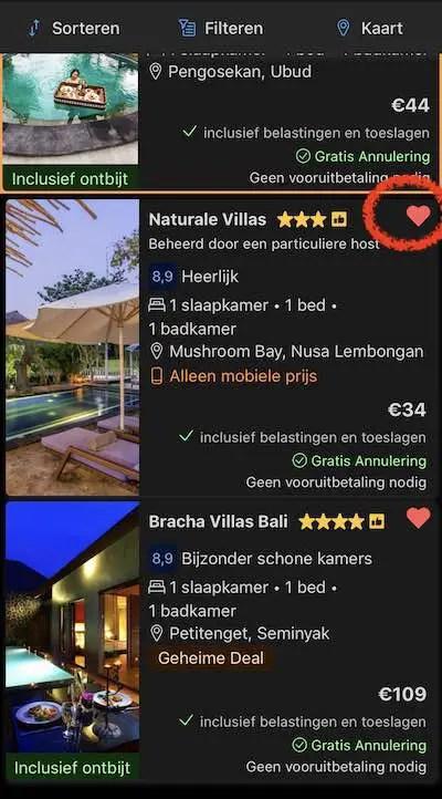booking.com korting hotel boeking overnachting 2