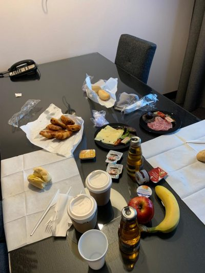 review Hilton DoubleTree Luxemburg Luxembourg Gold status honors 21