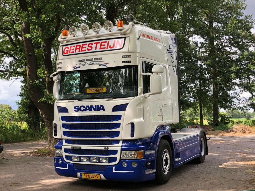 Vrachtwagen Belettering