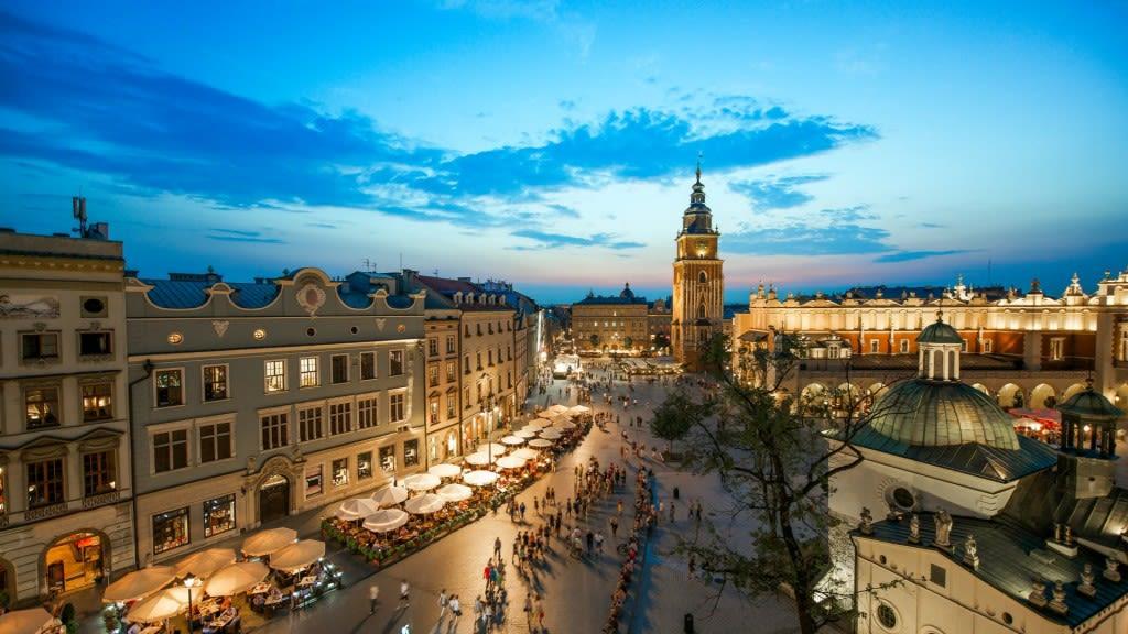 Indrukwekkende stedentrip naar historisch Krakau | centraal hotel vanaf 149,- p.p incl. retourvlucht en dagelijks ontbijt