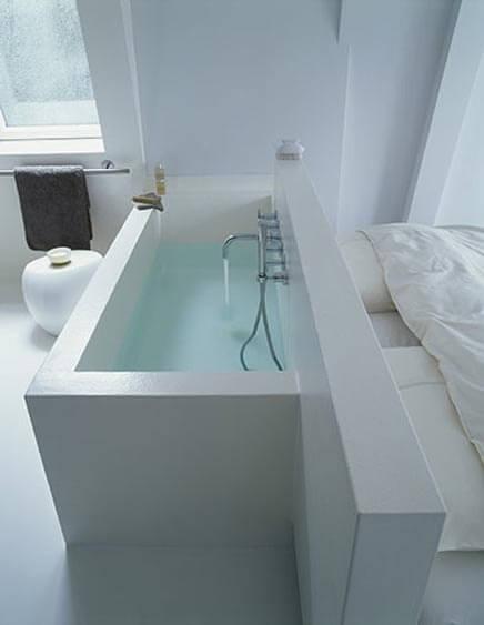 Inspiratie badkamer met slaapkamer  Ik woon fijn