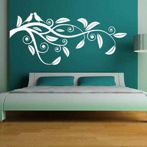Muurstickers voor in je slaapkamer  ideen en inspiratie