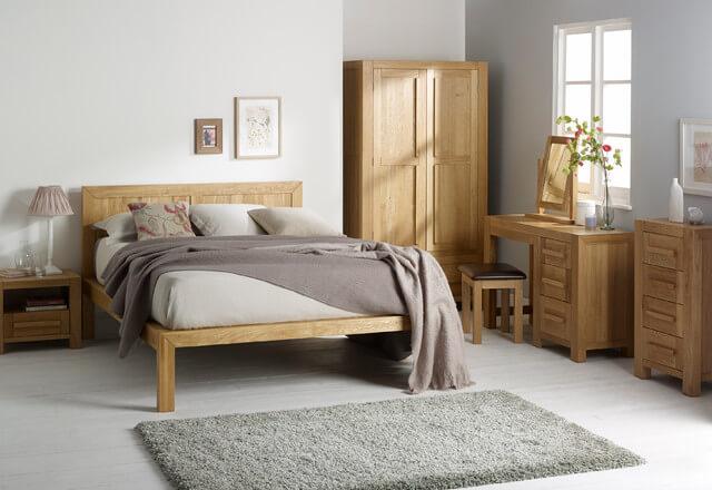 Scandinavische slaapkamer 10x bijpassende meubels  Ik
