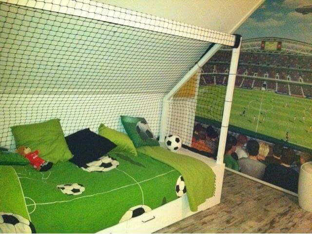 Voetbalkamer inrichten  alles op een rijtje voor een