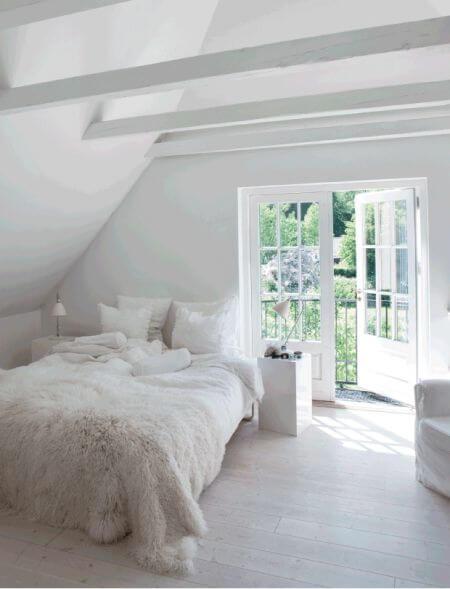 Slaapkamer Bed Deur