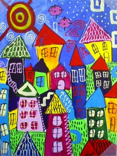 Schilderijen voor de kinderkamer 7 voorbeelden  Ik woon fijn