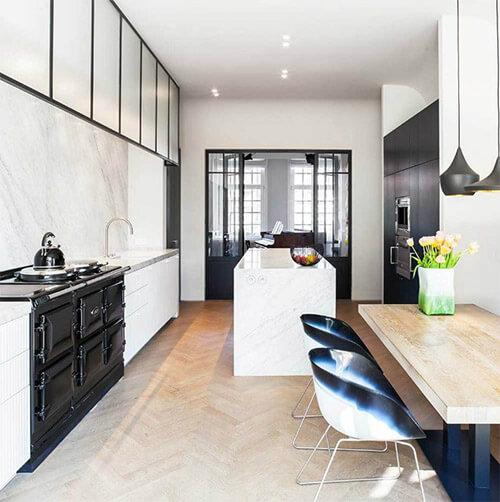 Zwart Witte Keuken In Jouw Moderne Interieur Ik Woon Fijn