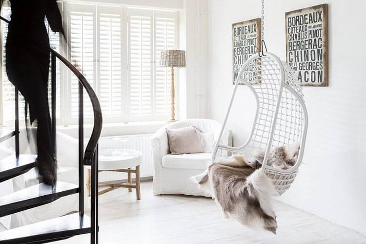 De witte woonkamer tijdloos en stijlvol  Ik woon fijn