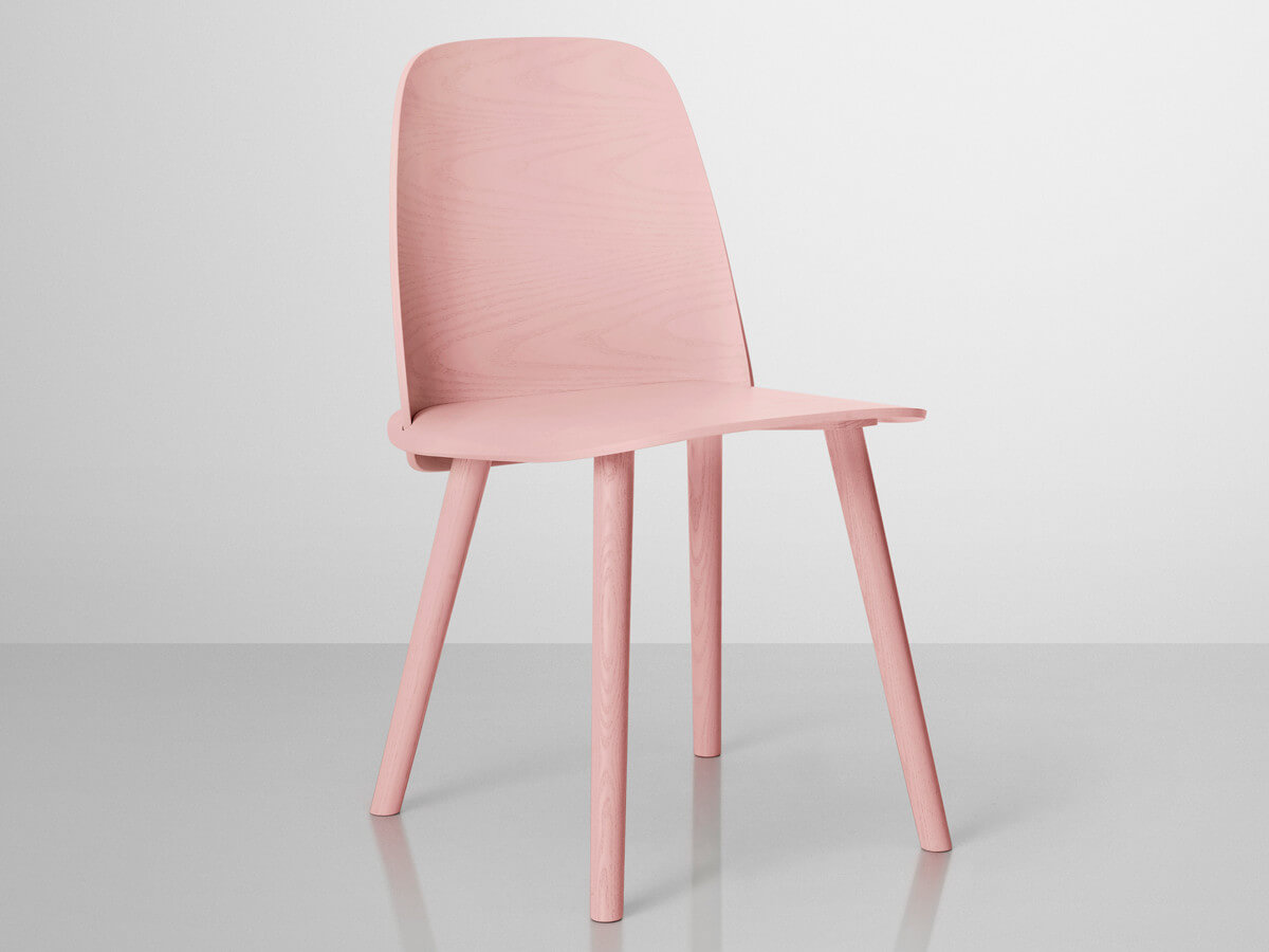 De roze eetkamerstoel  Ik woon fijn
