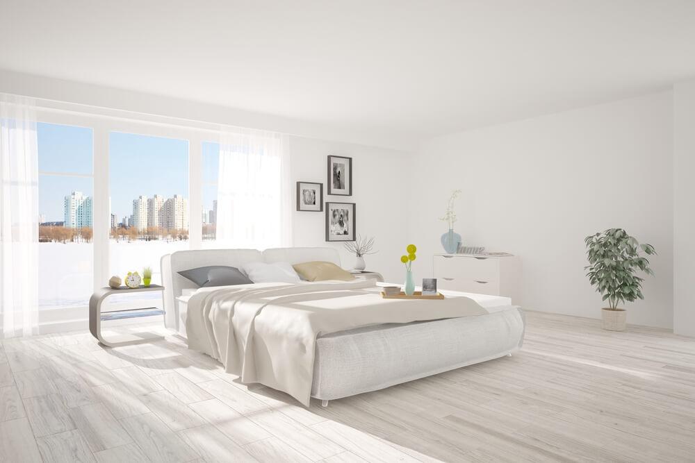 Een frisse minimalistische slaapkamer in 5 stappen  Ik