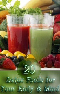 20 Detox Foods for Your Body & Mind