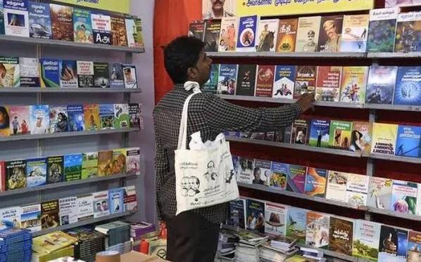 chennai book fair சென்னையில் ஓர் புத்தக திருவிழா- கல்யாணி