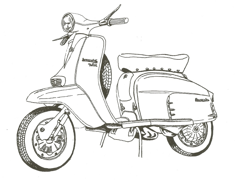 Design your own scooter paint scheme