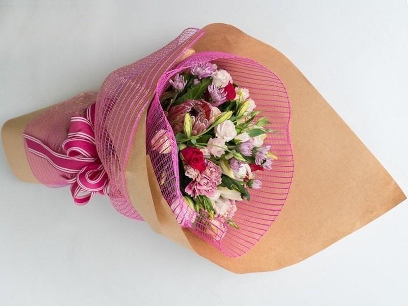 florists choice pretty pink