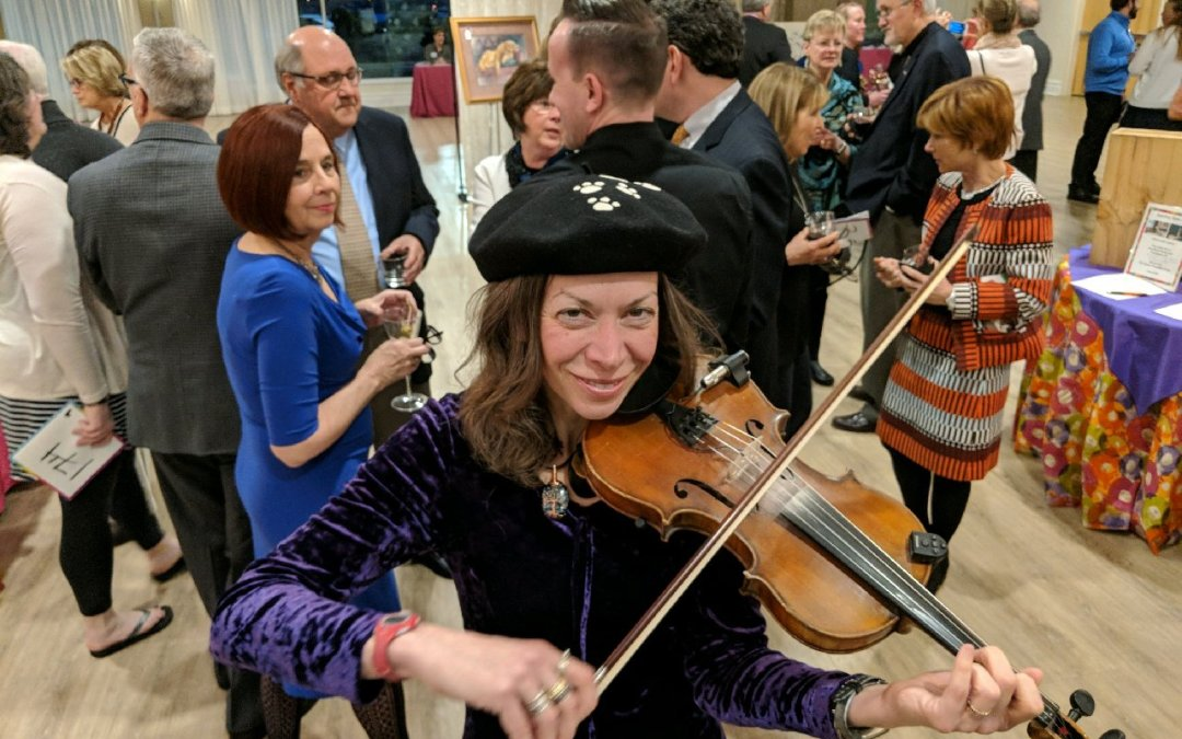Ilana performs benefit – for the love of the arts!