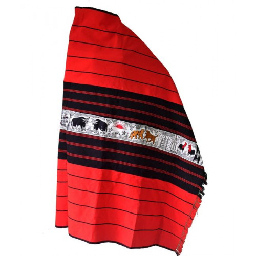 Traditional Shawl Of The Ao Naga Men