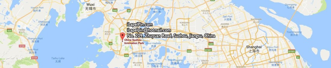 Custom Lapel Pins Company Address - Where to Find iLapelpin.com