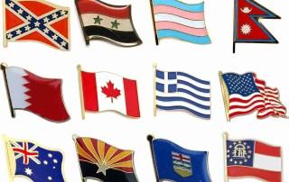 Flag - iLapelPin.com NO.1 Custom Lapel Pins China