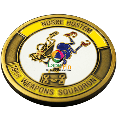 Custom Challenge Coins Police Challenge Coins - iLapelpin.com - Custom Custom Challenge Coins Factory China 1