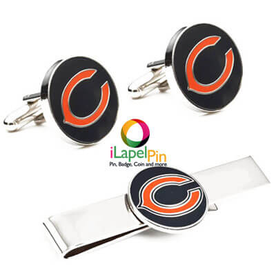 cufflinks and tie clips manufacturers - iLapelPin.com China Cufflinks and tie clips factory 2