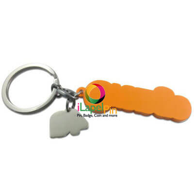 Custom Keychain China Keychains Factory Logo Keychain - iLapelPin.com 1