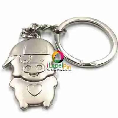 Personalised Keyrings China Custom Keychains Factory - iLapelPin.com 1