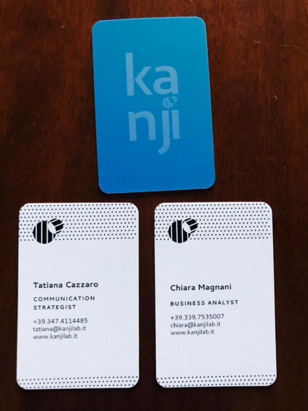 Biglietto da visita Kanji