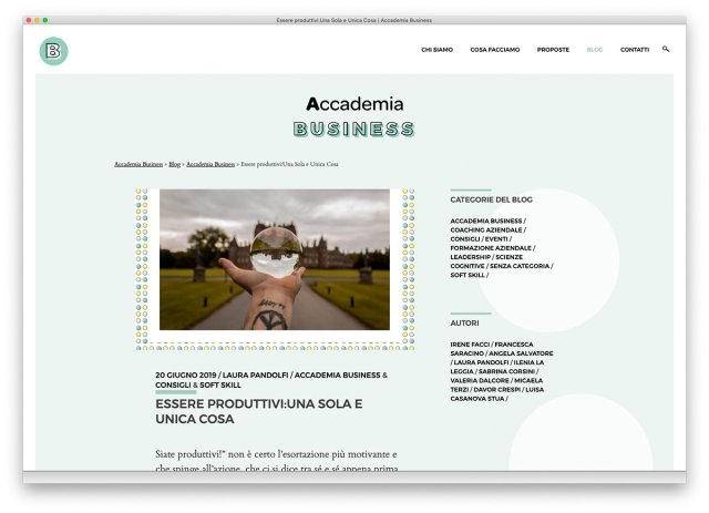 Blog Accademia Business