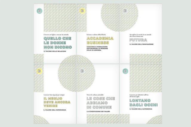 Fronte delle brochure Accademia Business