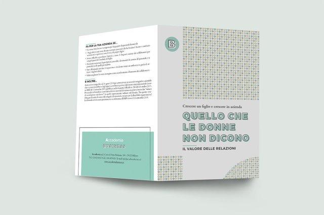 Esterno della brochure Accademia Business