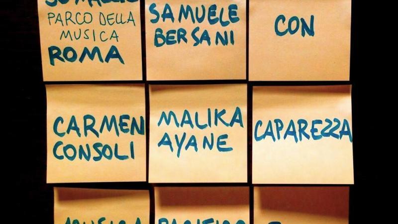 """Plurale Unico"" – Samuele Bersani (30/05/2015)"