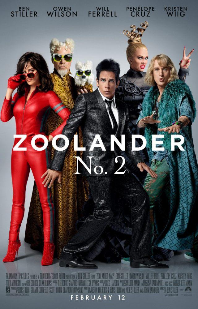 Zoolander 2 - Poster