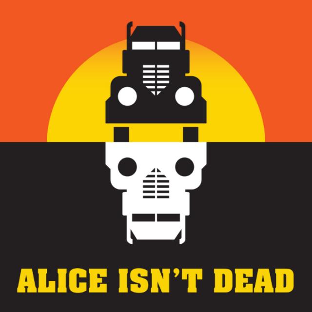 Alice isn't dead - Cover