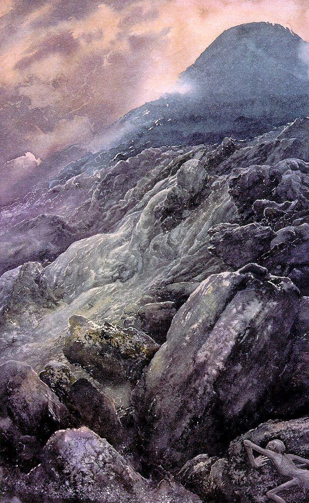 LOTR_Alan-Lee_3_Mount-Doom