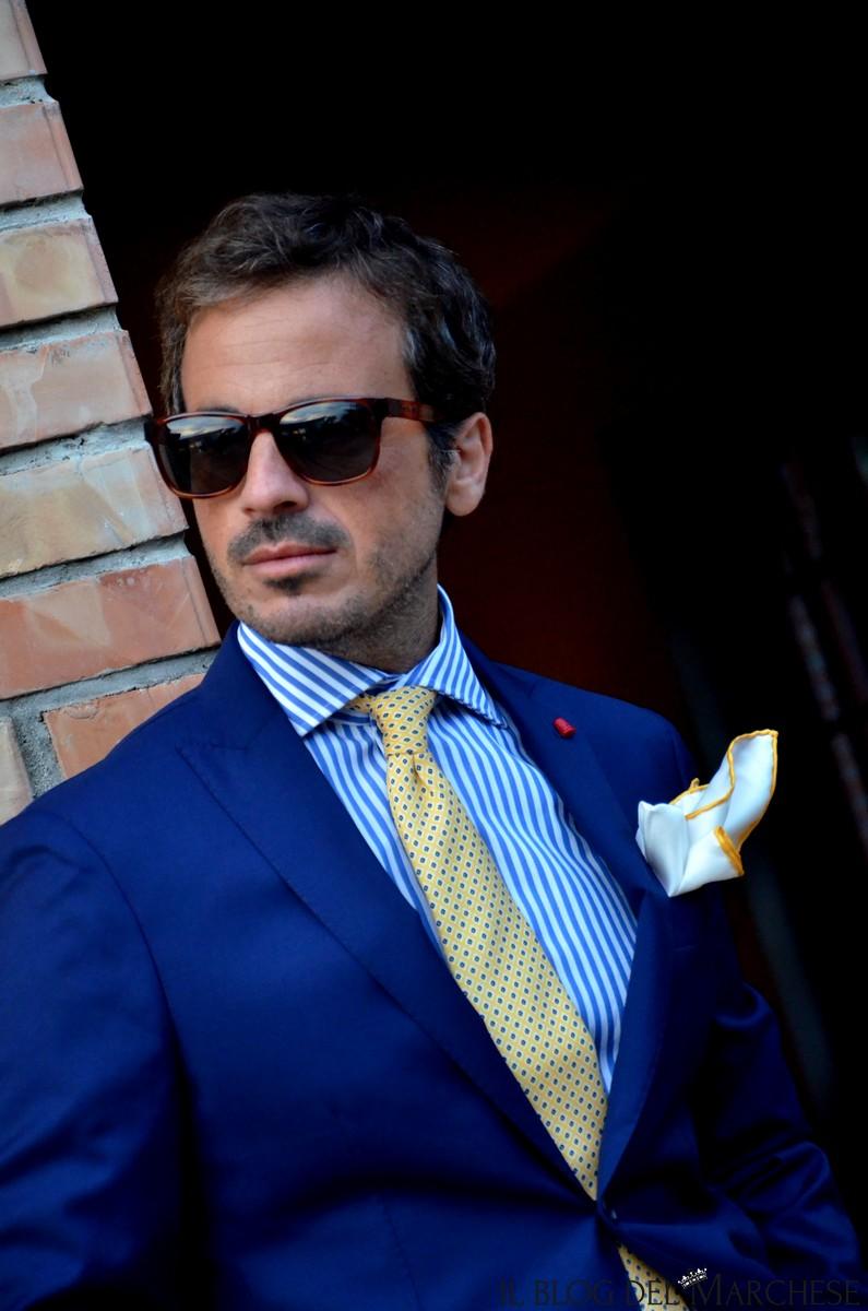 Abbinare abito blu uomo  Il blog del Marchese