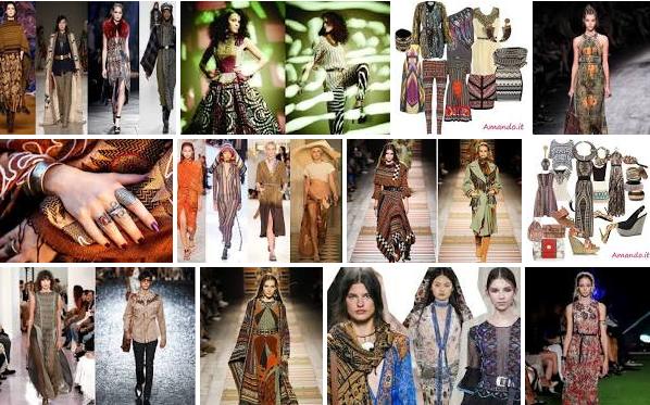 Cosa Vuol Dire Stile Etnico moda, Outfit Etnico
