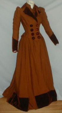 1870 1900 cappotto donna