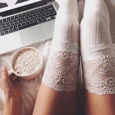 Sandali con Calzini Inverno 2018 calze con pizzo