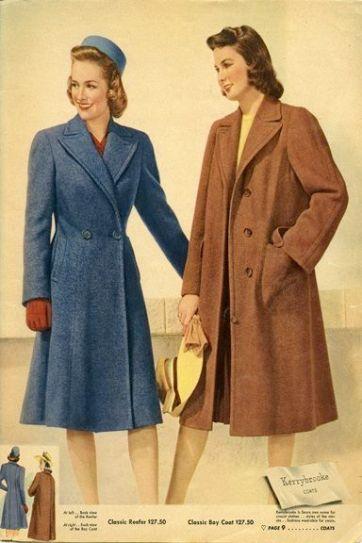 cappotto donna 1940