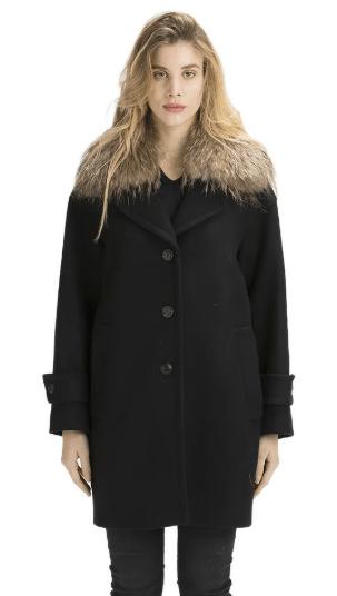 cappotto in panno Twin Set