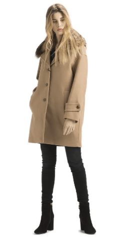 Cappotto Twin set panno