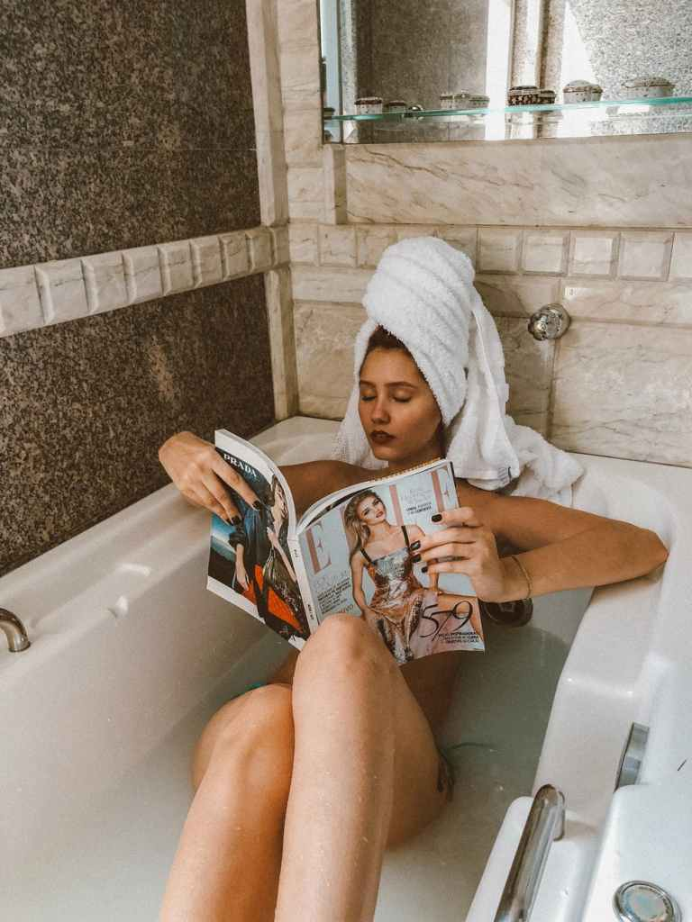 Come rilassarsi in bagno