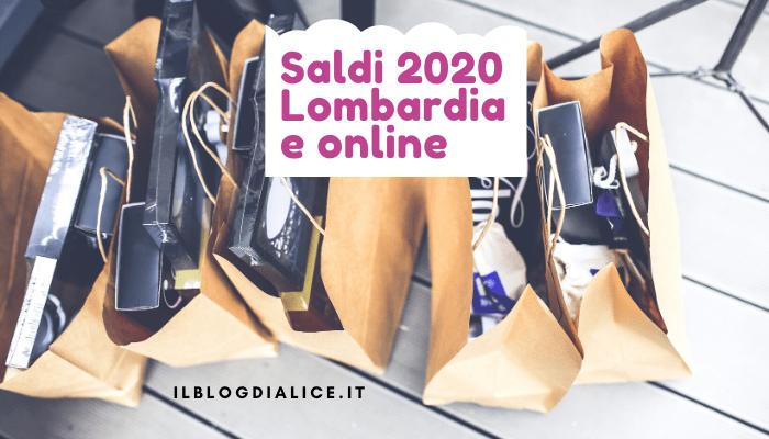 Saldi 2020 Lombardia e saldi online quando iniziano