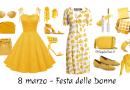 Come vestirsi alla festa della donna, outfit in giallo