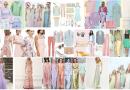 Colori pastello abbigliamento, trend pastello abbinamenti