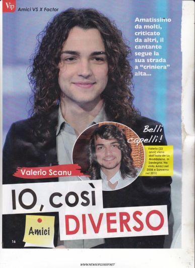 Valerio Scanu conferma su facebook le parole di Luca Jurman