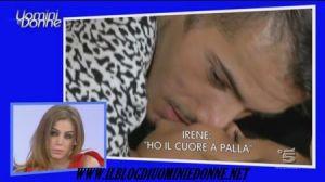 Bacio Irene Casartelli e Aldo Palmeri