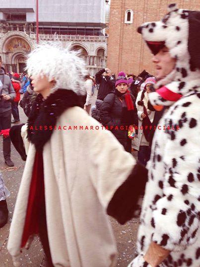 Alessia Cammarota e Aldo Palmeri a Venezia